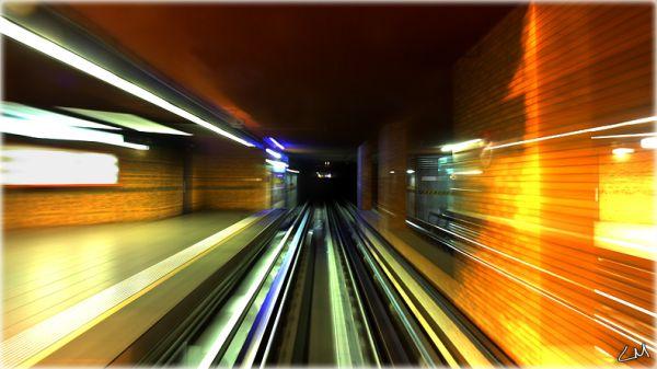 le metro de Lyon