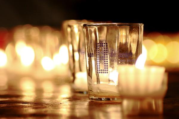 la fête des lumières à lyon le 8 décembre