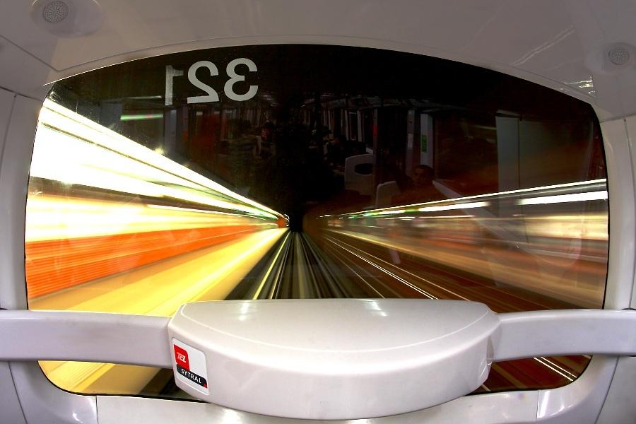 ligne D du metro de Lyon