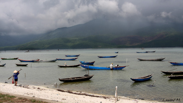 vietnam Đèo Hải Vân, ocean cloud pass