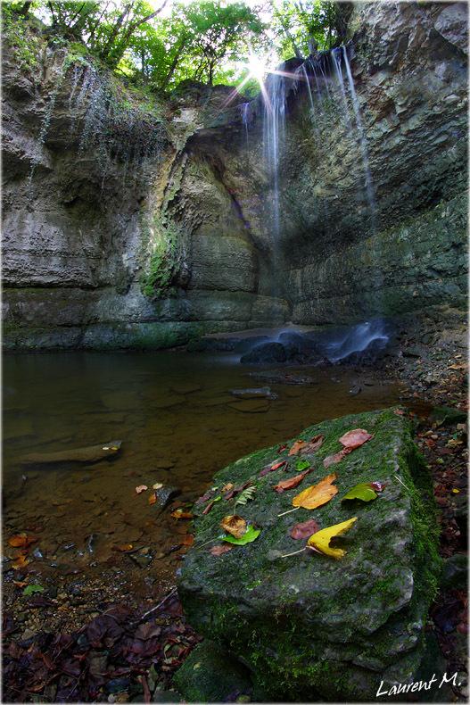 la cascade de Chapieu sur l