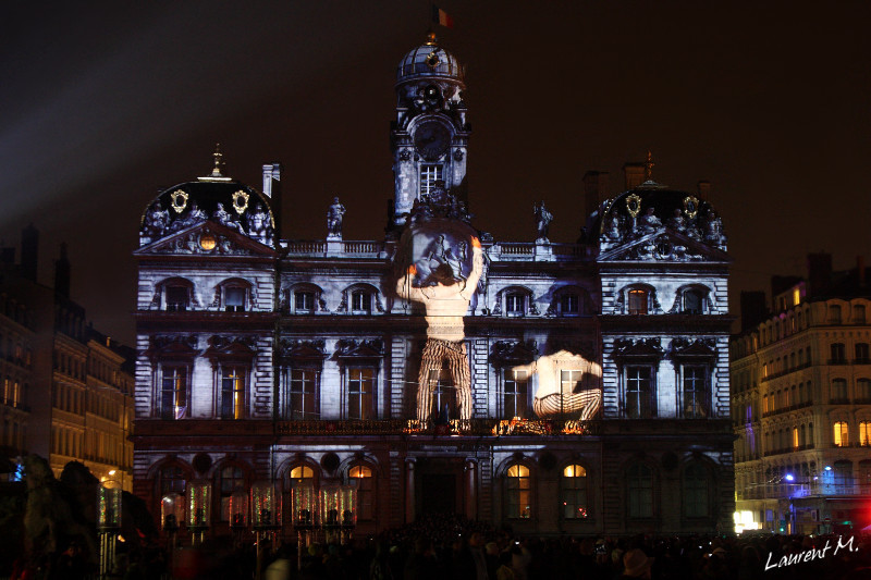 la fête des lumières Lyon 2012