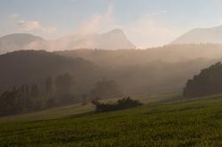 le massif es trois bec la forêt de saou