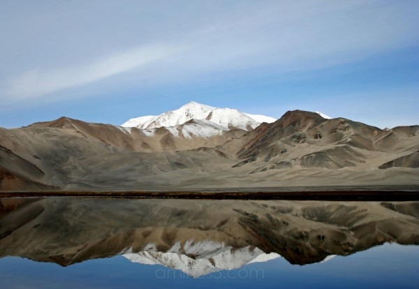 Reflections at Lake Karakul, Xinjiang, China