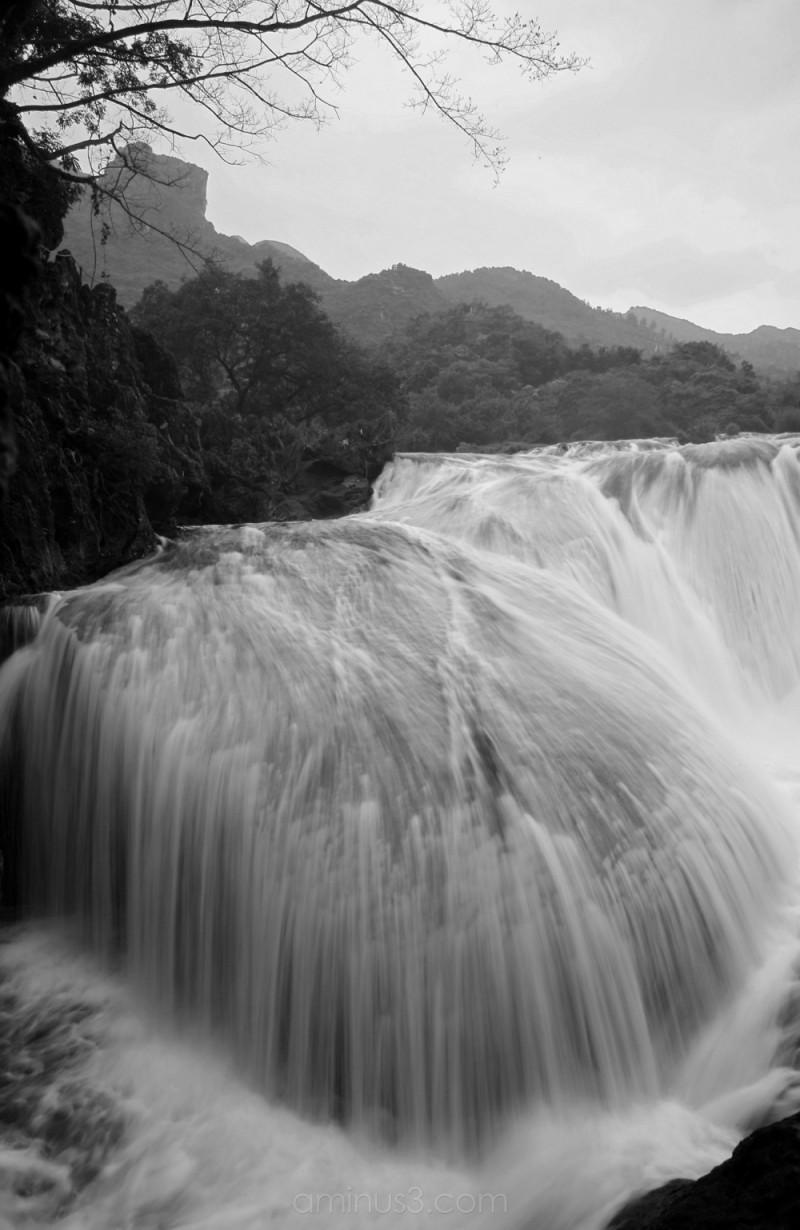 Cascade at Huangguoshu Falls, Guizhou, China