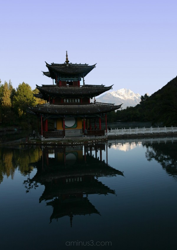 Black Dragon Park, Lijiang, Yunnan, China