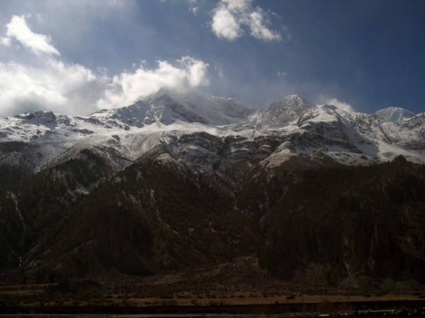Annapurna: The start of the snow