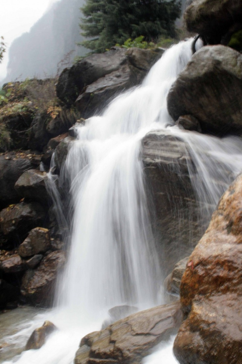 Annapurna: Waterfall