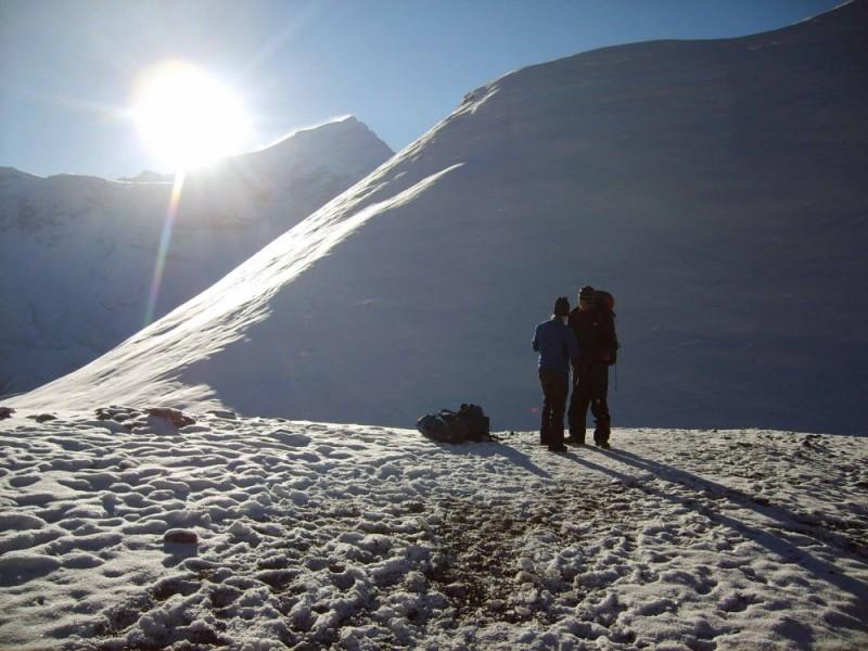 Annapurna:  Nearing the pass