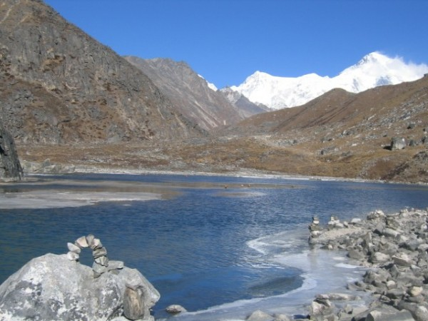 Everest region: Gokyo's 1st lake