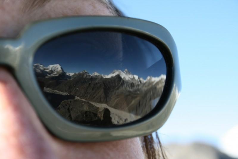 Atop Gokyo Ri - Mountains in my eyes