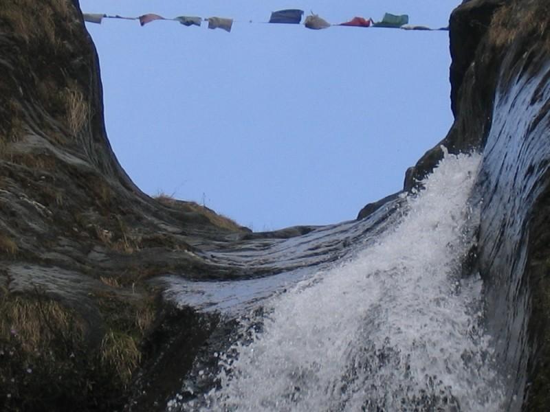 Bhagsu Waterfall near Mcleod Ganj