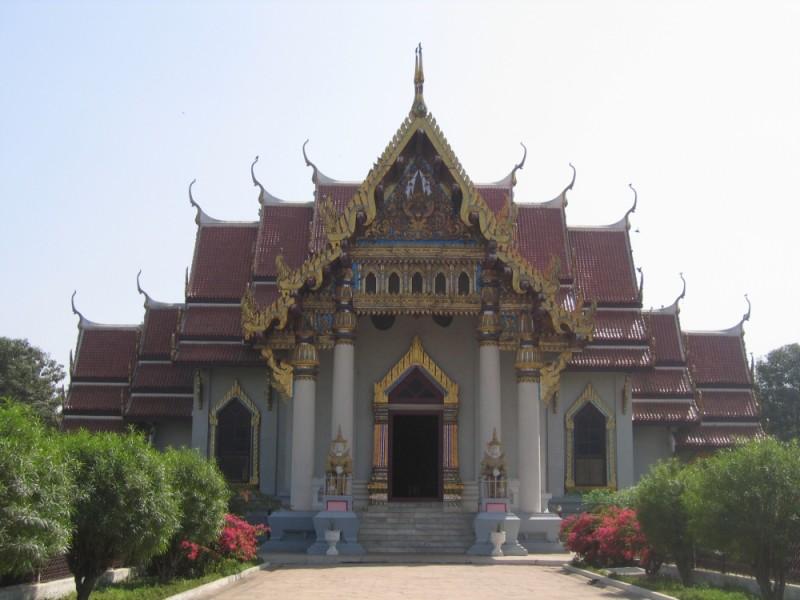 Thai temple - Bodhgaya
