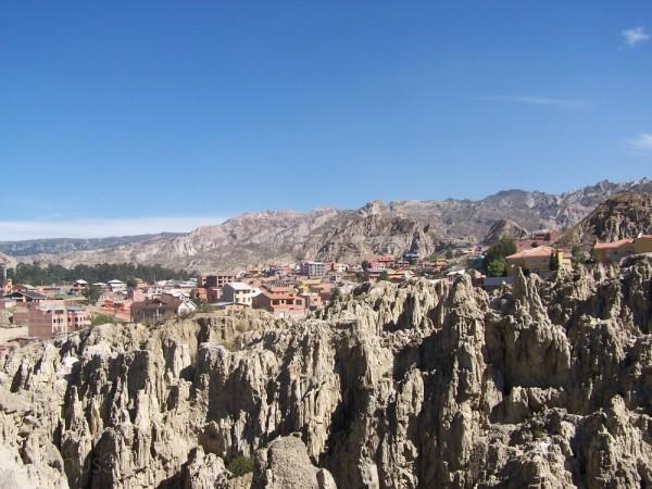 a view of La Paz