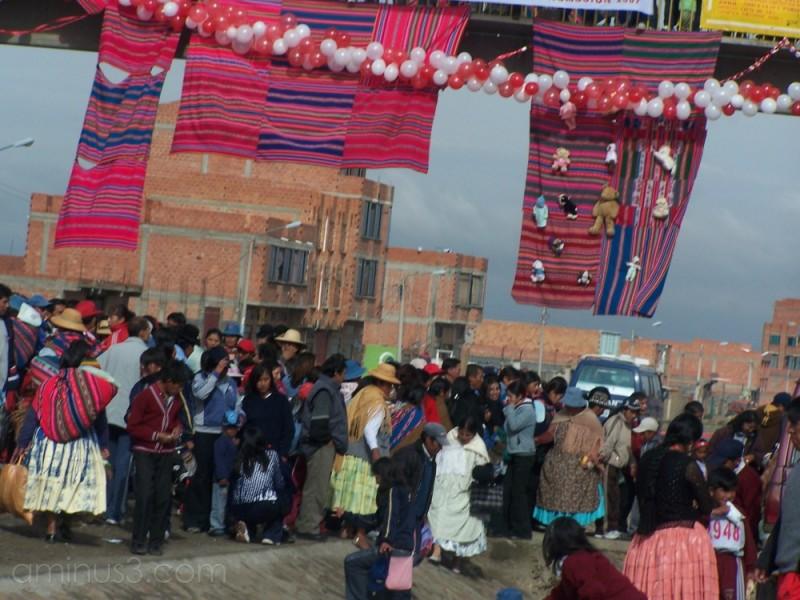 living in La Paz