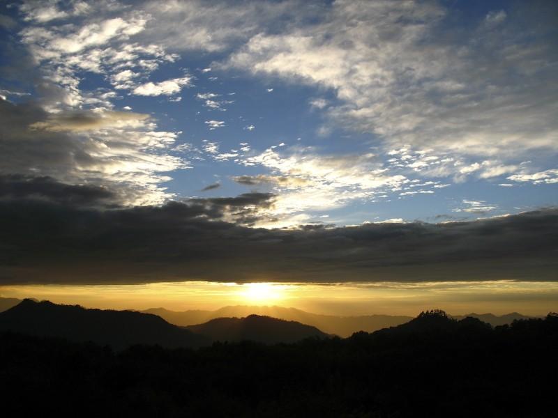 sunset ampacao danum sagada banaue trek