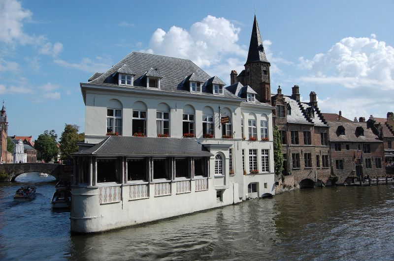 Bruges charming white house #2