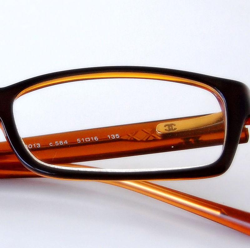 Chanel eyeglasses detail