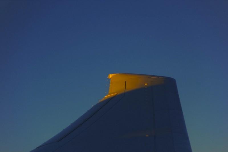 Sun on the wingtip!