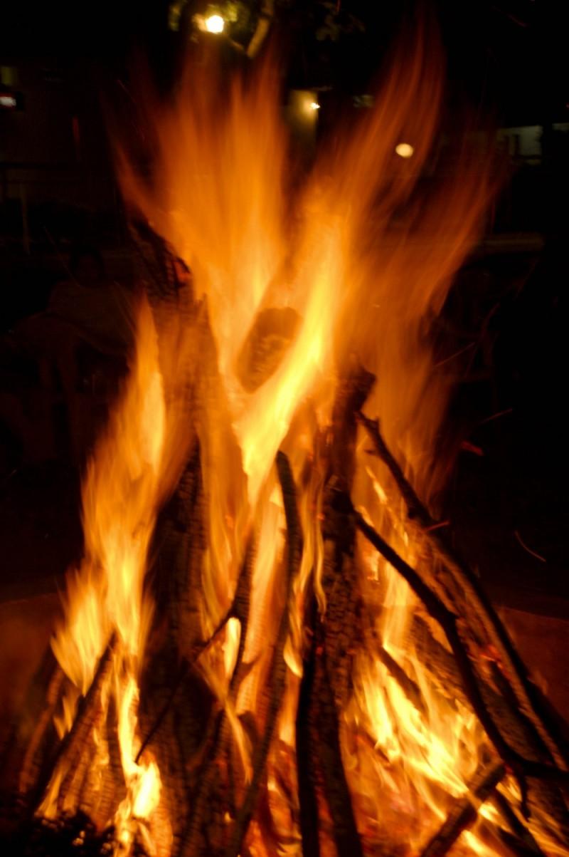 New Year Bonfire !