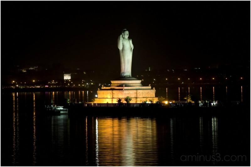 Buddha  at Hyderabad .