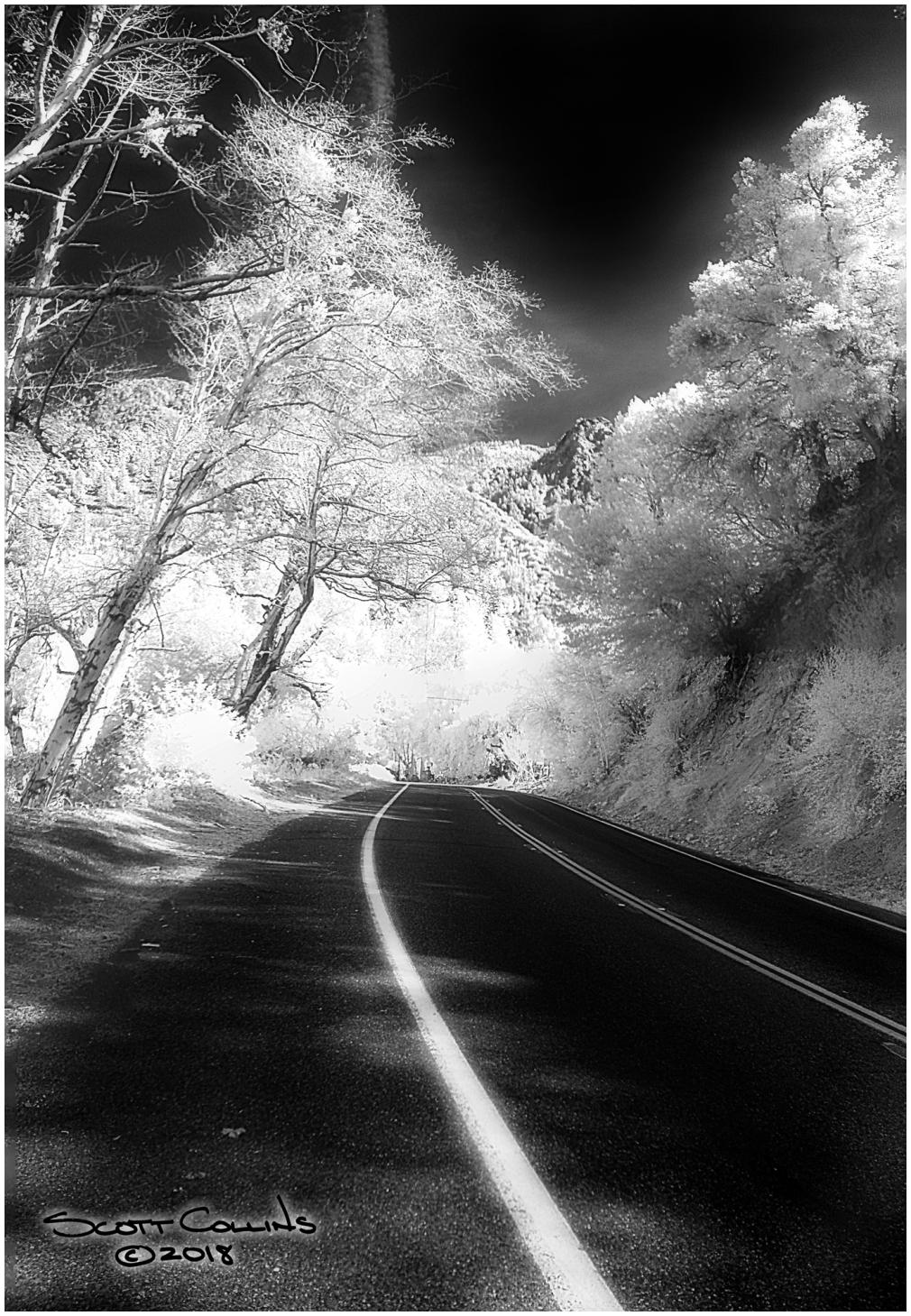 Infrared Mt Baldy