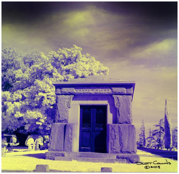 Infrared Image in Turlock California