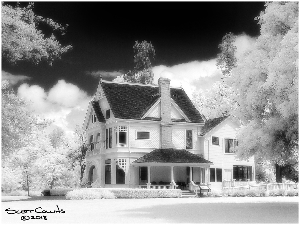 Infrared Ardenwood Historic Farm