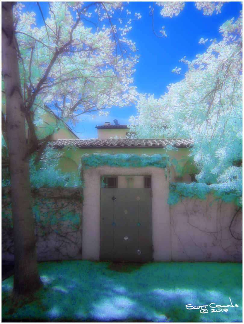 Scripps College in Infrared