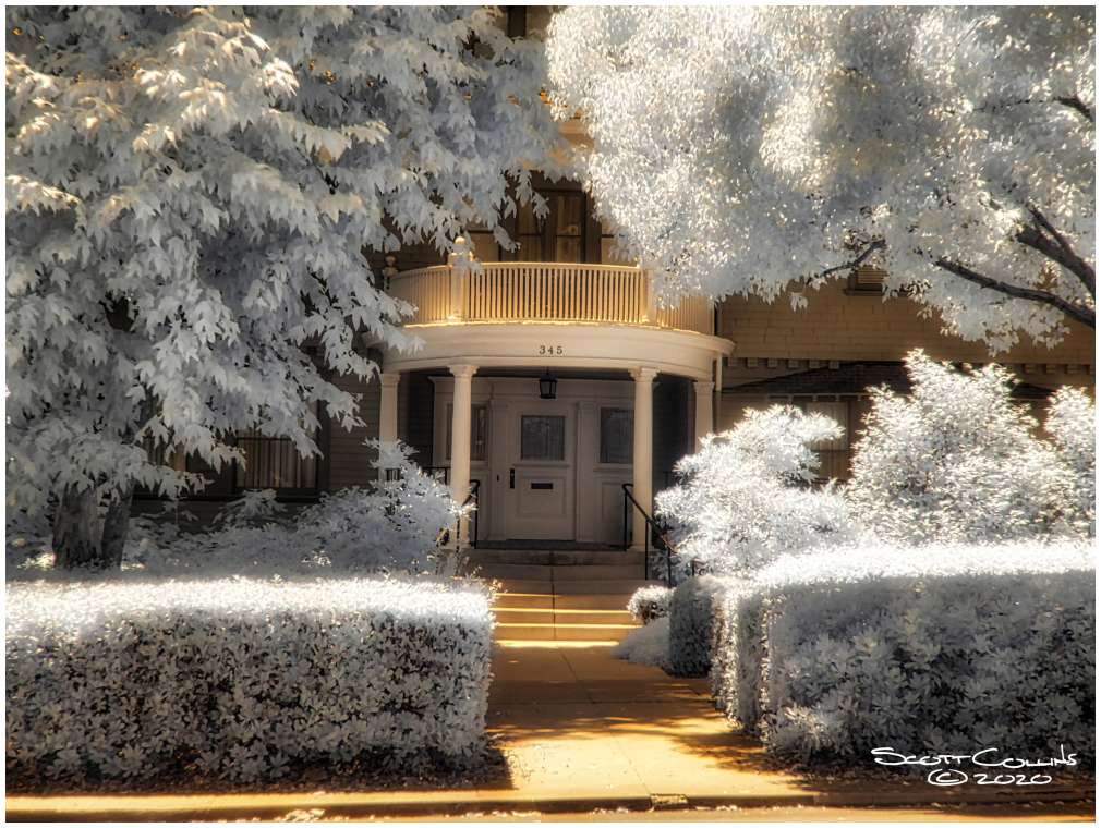 Infrared images of Claremont College, Scripps