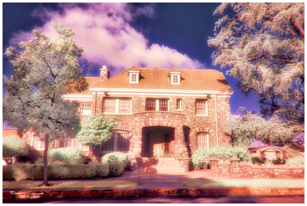 Infrared Image of an Ontario home