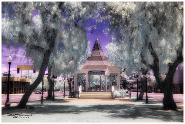 Infrared Ontario Bandstand