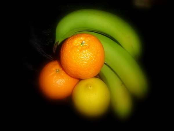 Fruits in soft focus