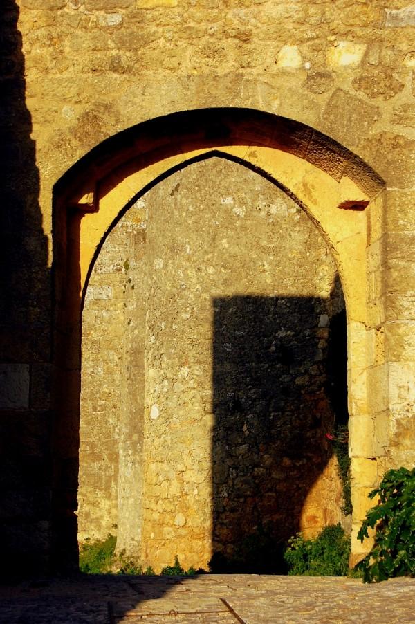 The castle shadows
