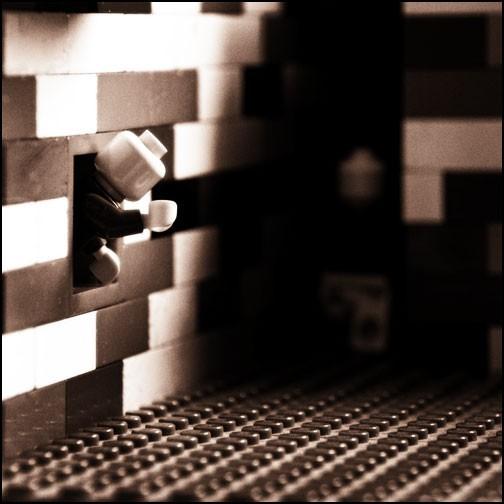 Lego Street. Shot 1. Late 2007.