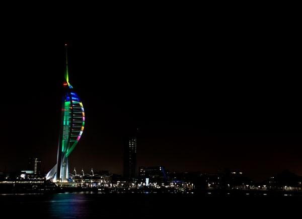 Spinnaker Tower, Portsmouth. December 2007.