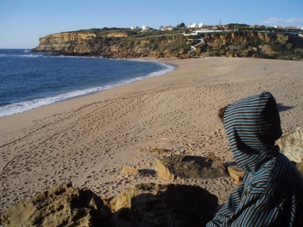 praia de S. Lourenço..