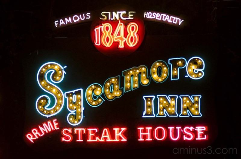 Sycamore Inn sign