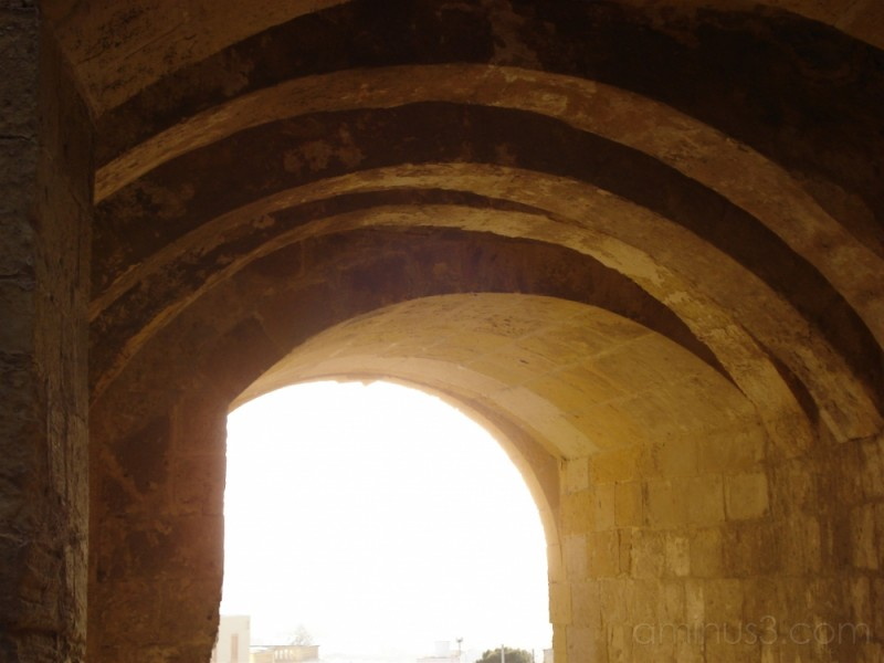 Entrance to the citadel in Victoria/Rabat, Gozo