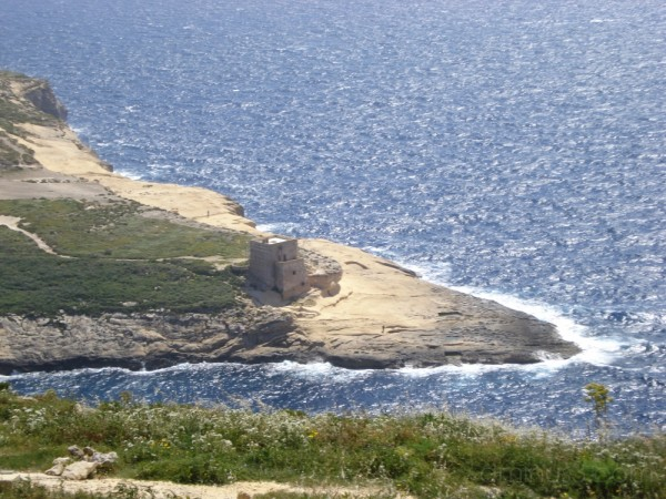 View of the watchtower at Ras il-Bajda