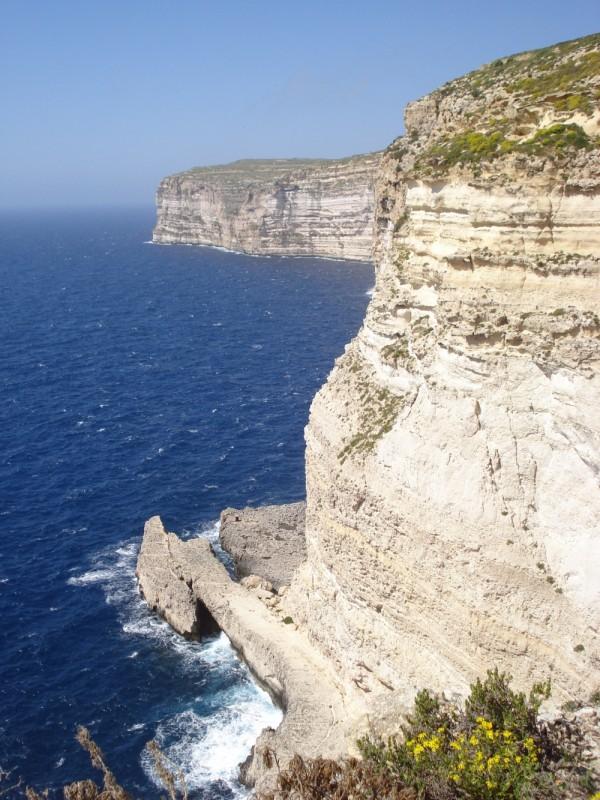 View of Wardija Point, Gozo