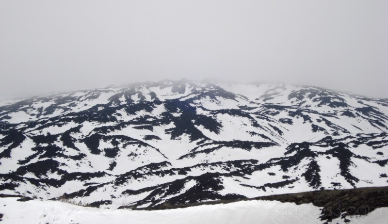 Near the top of Mt. Etna, Sicily