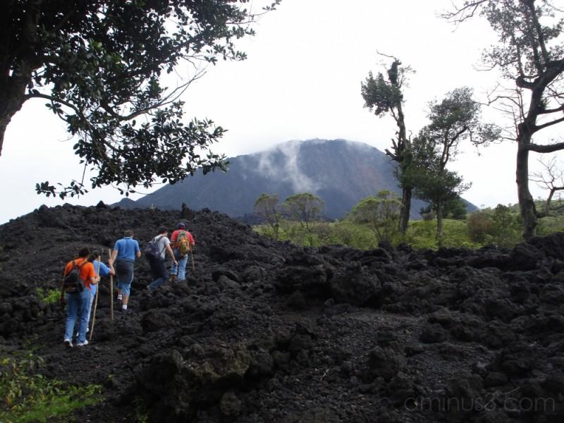 Climbing Volcan Pacaya
