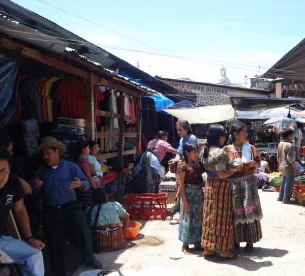 Market in San Pedro la Laguna