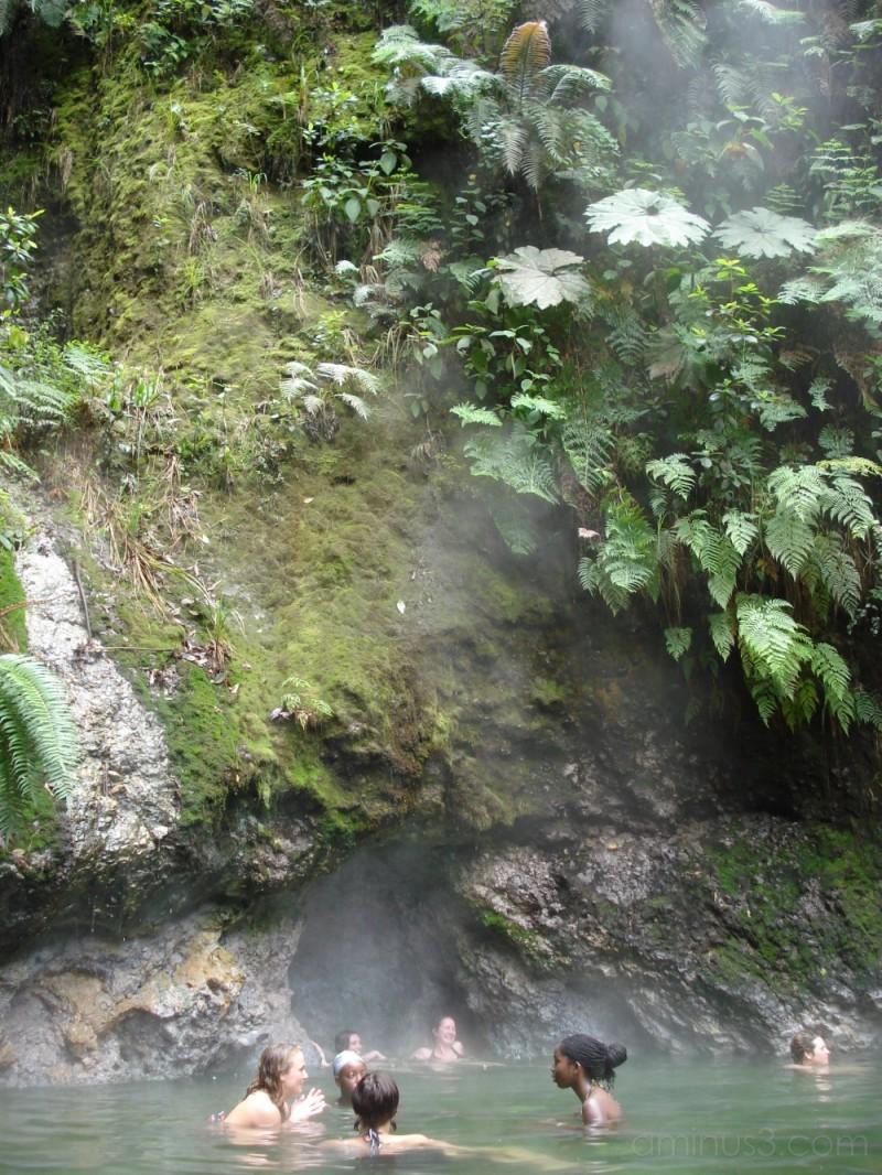 Las Fuentes Georginas- hot springs