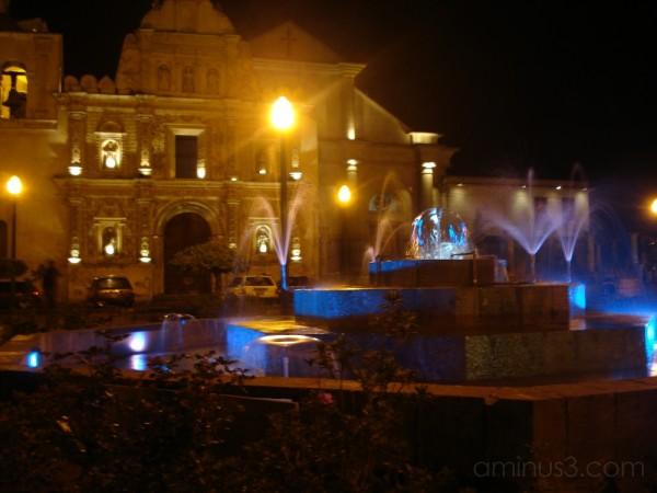 Parque Central in Quetzaltenango (Xela), Guatemala