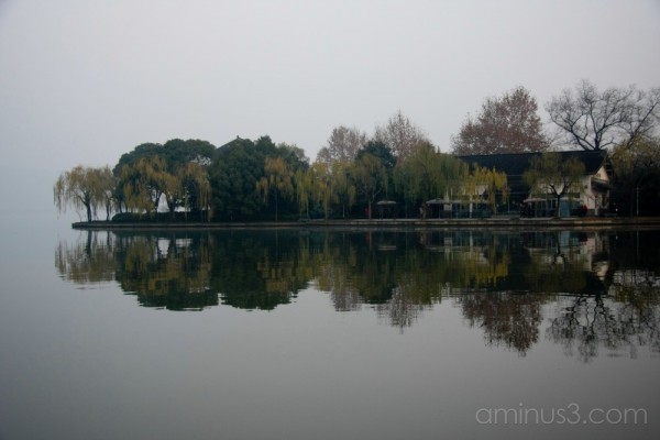 China, HangZhou, XiHu (West Lake), Reflection