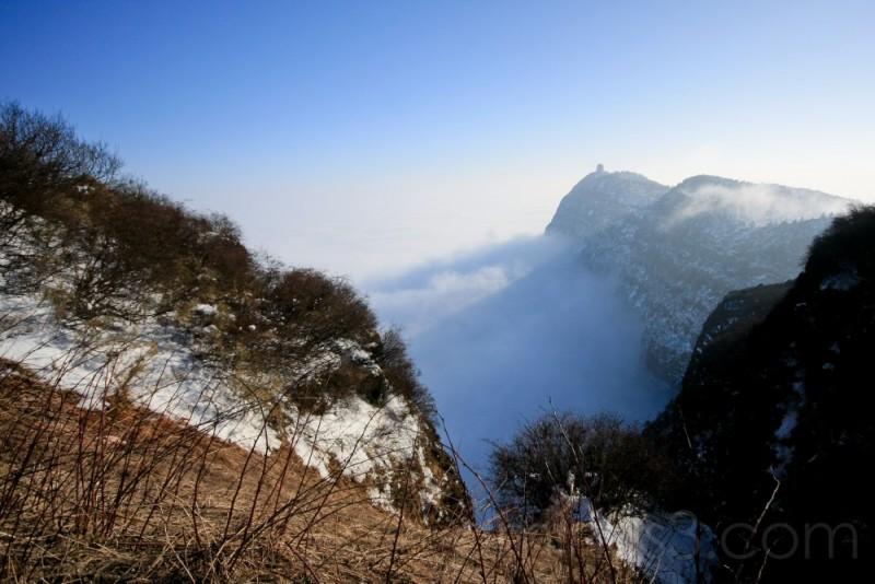 China, SiChuan, Emeishan, Ten Thousand Buddha Peak