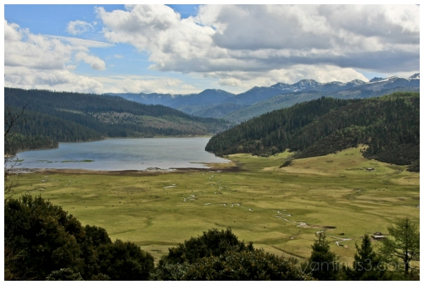 China, Yunnan, Shangri-La, Shudu Lake
