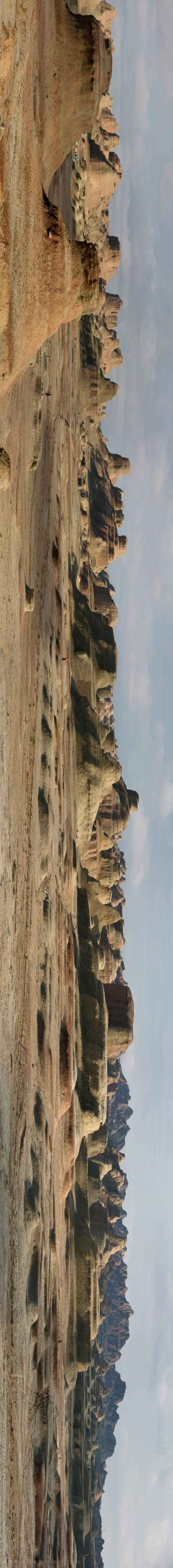 XinJiang Wuerhe (Urho) Junggar Basin, Panorama